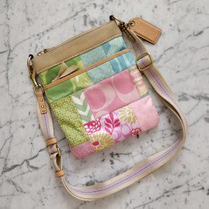 💖RARE💖 COACH Quilted Patchwork Crossbody